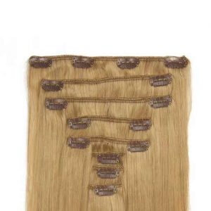 Clip in Extensions 60cm 160g Aschblond-0