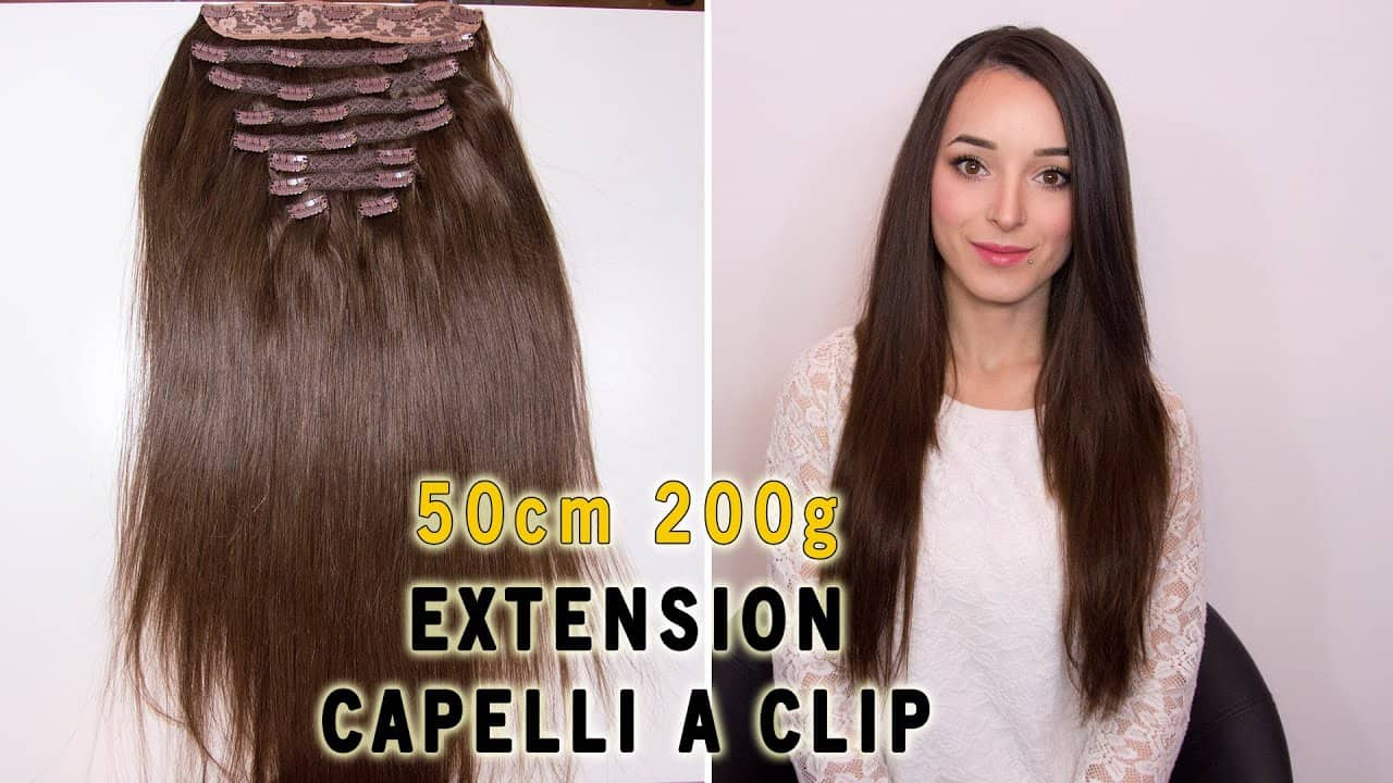 Clip In Extensions Deluxe 50cm 200g