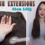 Premium Flip-in extensions 40cm 140g